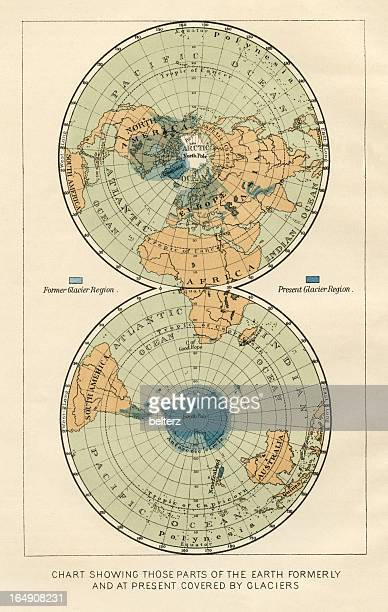 South Pole World Map.South Pole Stock Illustrations And Cartoons