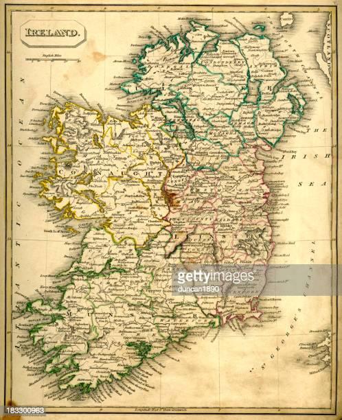 Antquie Map of Ireland