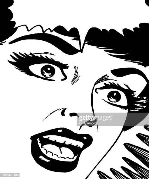 不安女性、音声球