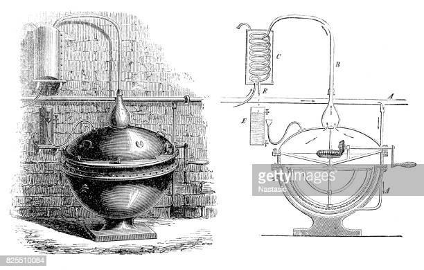 Apparatus for distillation