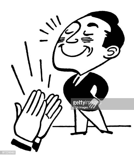 applause - applauding stock illustrations, clip art, cartoons, & icons