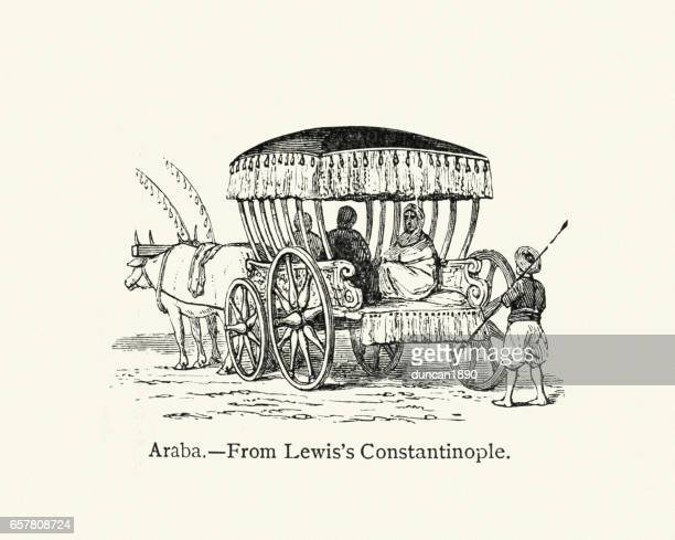 araba (carriage) - en búsqueda stock illustrations