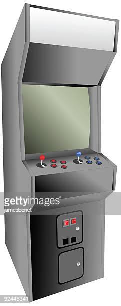 Arcade Cabinet (Vector)