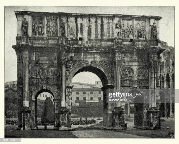 Arch of Constantine a triumphal arch in Rome