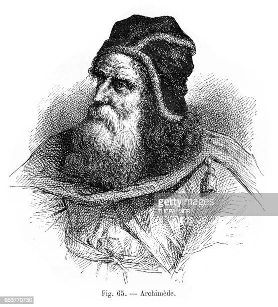 Archimedes engraving 1881