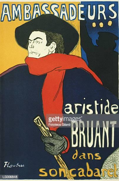 Aristide Bruant at Les Ambassadeurs