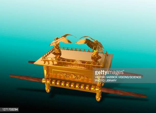ark of the covenant, conceptual illustration - 聖約の箱点のイラスト素材/クリップアート素材/マンガ素材/アイコン素材