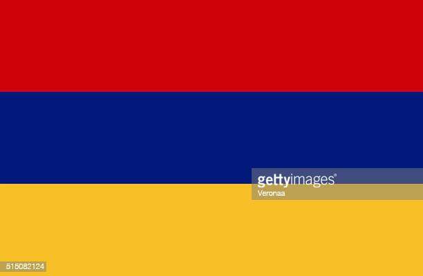 armenia flag - armenian flag stock illustrations