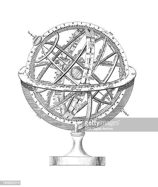 Armillary Sphere: A Scheme of Earth and the Stars