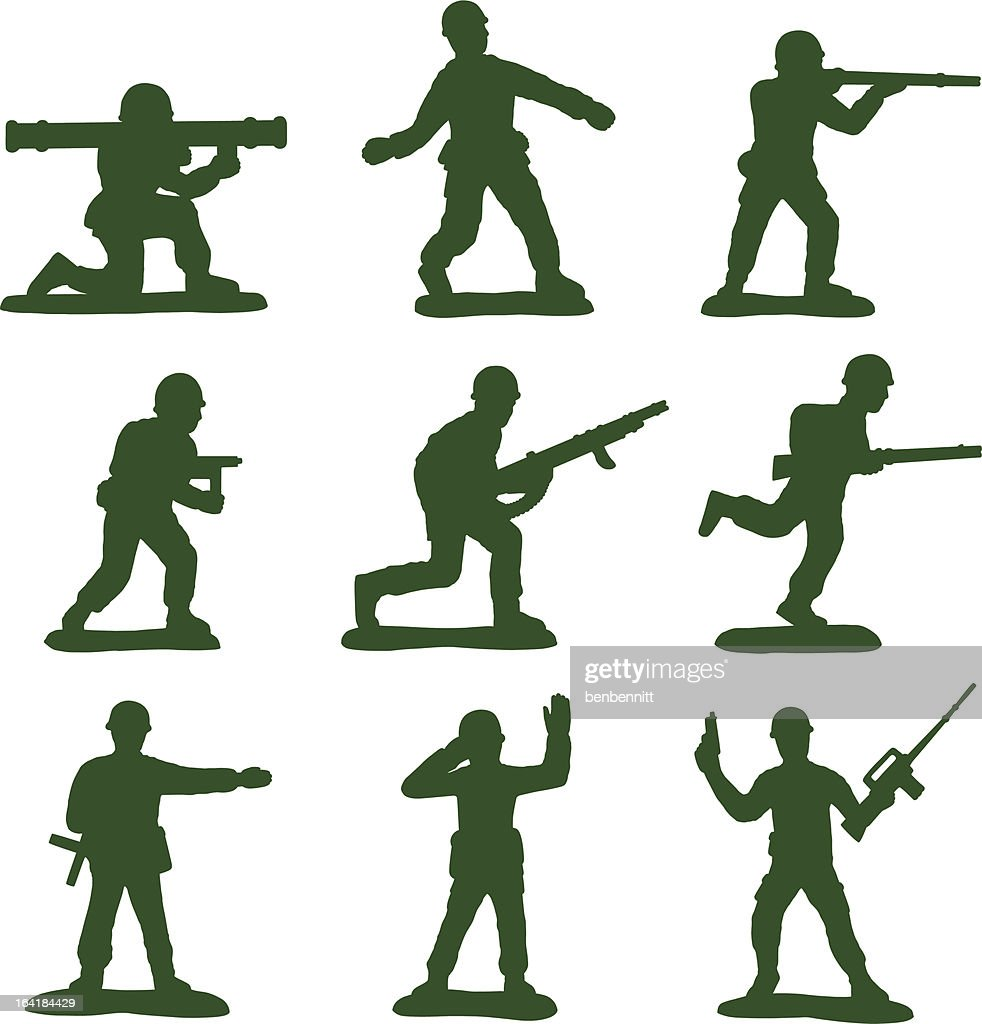 Army Men (Full Set of 9)