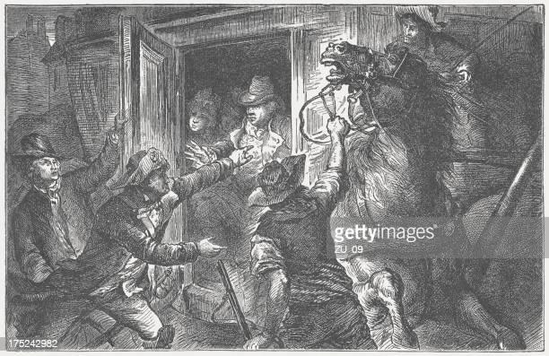 Arrest of Louis XVI at Varennes on June 21, 1791