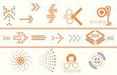 arrow design elements