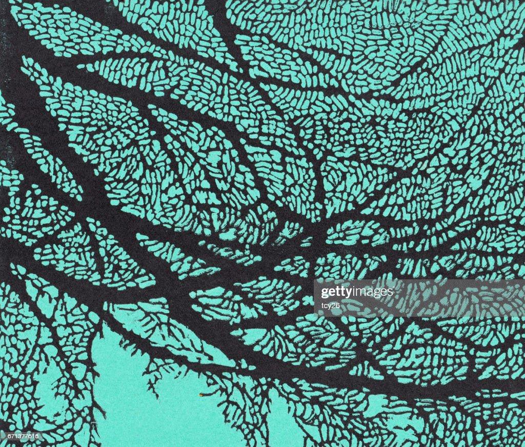 Vaak Kunst Abstract Achtergrond Patroon Afdrukken Op Papier Hout #JS09