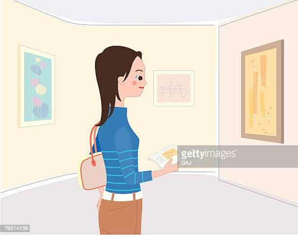 Art Gallery, Illustrative Technique