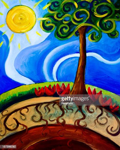 Earth Day Stock Illustrations And Cartoons | Getty Images Earth Painting Oil