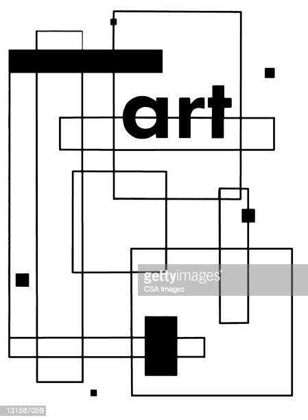 art square pattern - angle stock illustrations