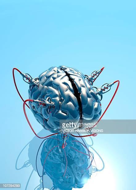 Artificial brain, artwork