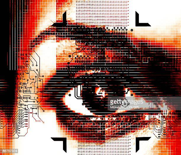 Artificial intelligence (AI), conceptual computer artwork