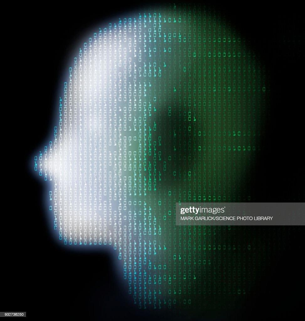 Artificial intelligence, conceptual illustration : Stock Illustration