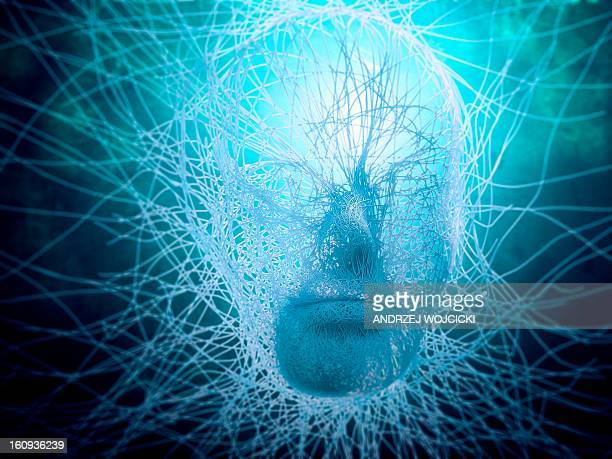 artificial intelligence, conceptual image - artificial intelligence stock illustrations