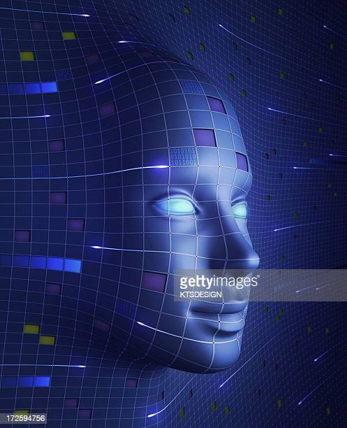 Artificial intelligence, conceptual image