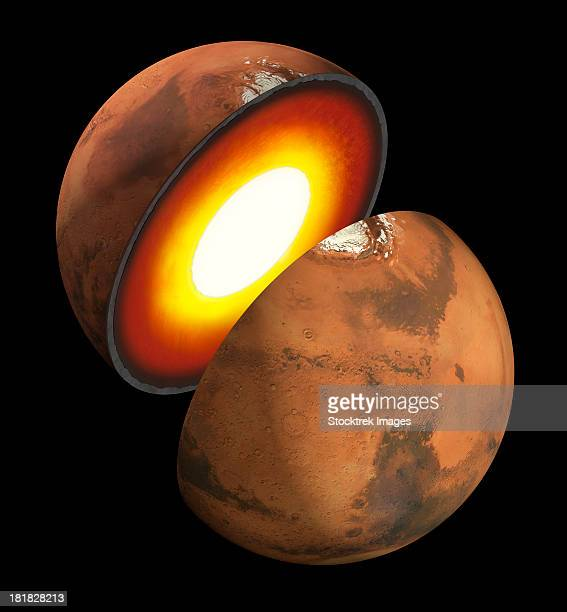 Artist rendition of the formation of rocky bodies in the solar system, how they form and differentiate and evolve into terrestrial planets.