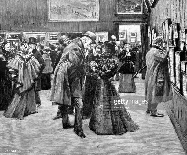 芸術のギャラリー大会 - 1896