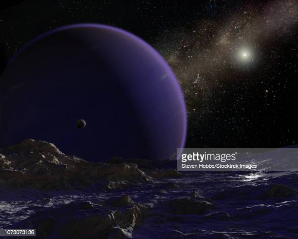 Artist's concept of hypothetical Planet 9.