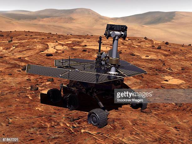 Artists rendition of Mars Rover