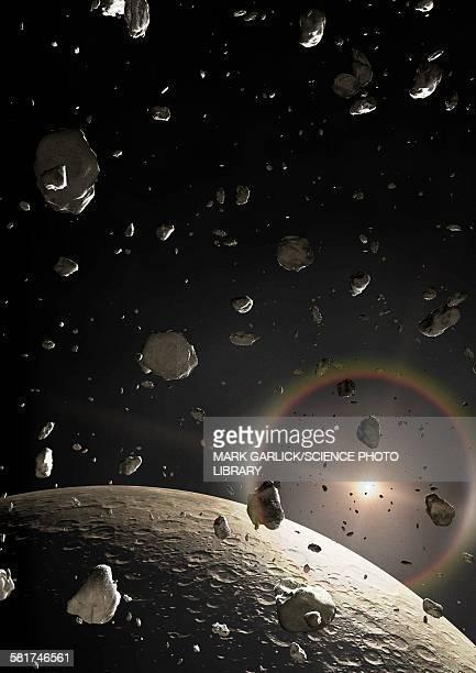 Artwork of a Kuiper Belt Object