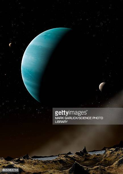 Artwork of Exoplanet HD69830