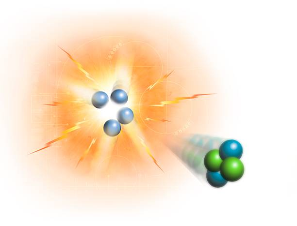 Artwork Of Nuclear Fusion Reaction Wall Art