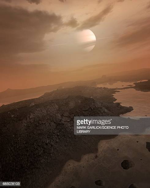 Artwork of Seas on Titan