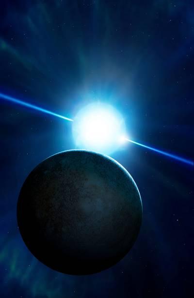Artwork of the exoplanet Drugar.
