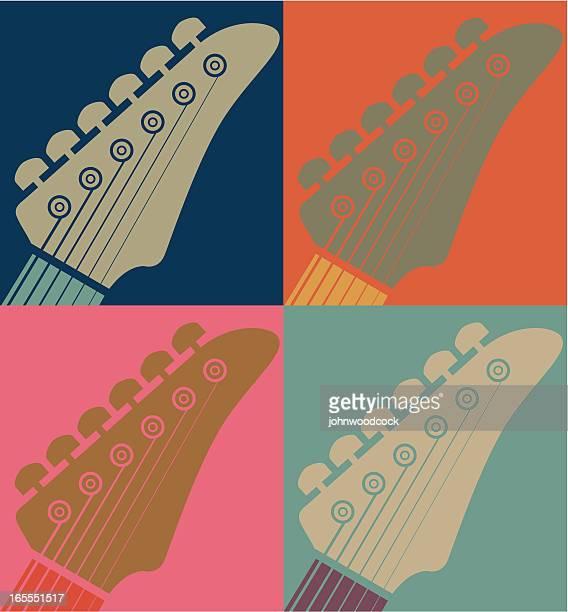 Arty guitar necks