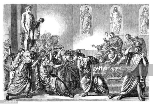 Assassination of emperor Julius Caesar