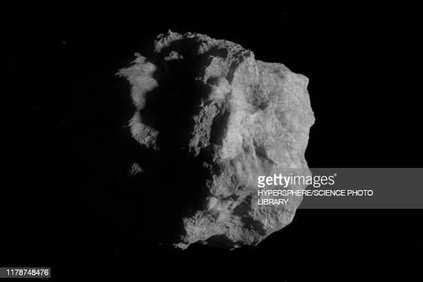 illustrazioni stock, clip art, cartoni animati e icone di tendenza di asteroid, illustration - meteorite