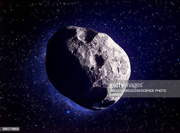 asteroid, illustration - space and astronomy stock illustrations