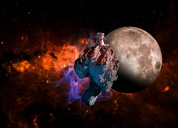 Asteroid Mining, Artwork Wall Art