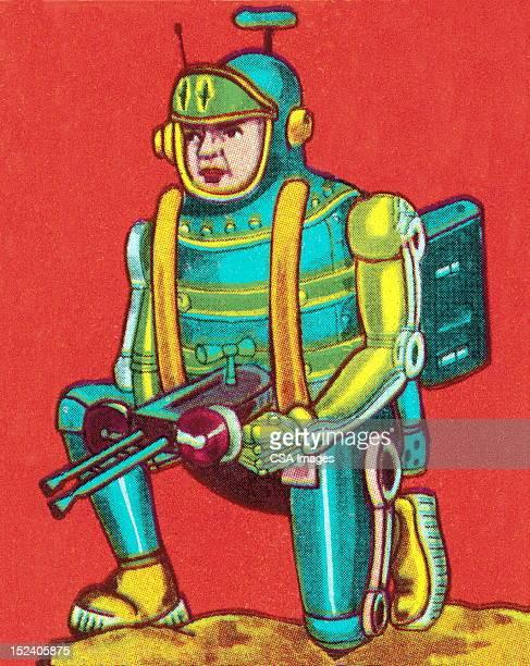 宇宙飛行士、レイゴンモ