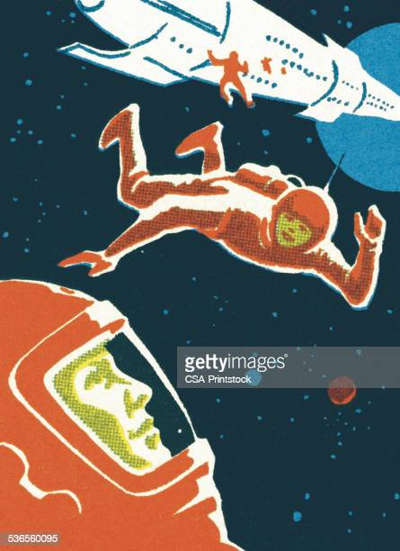 Astronauts in Outer Space