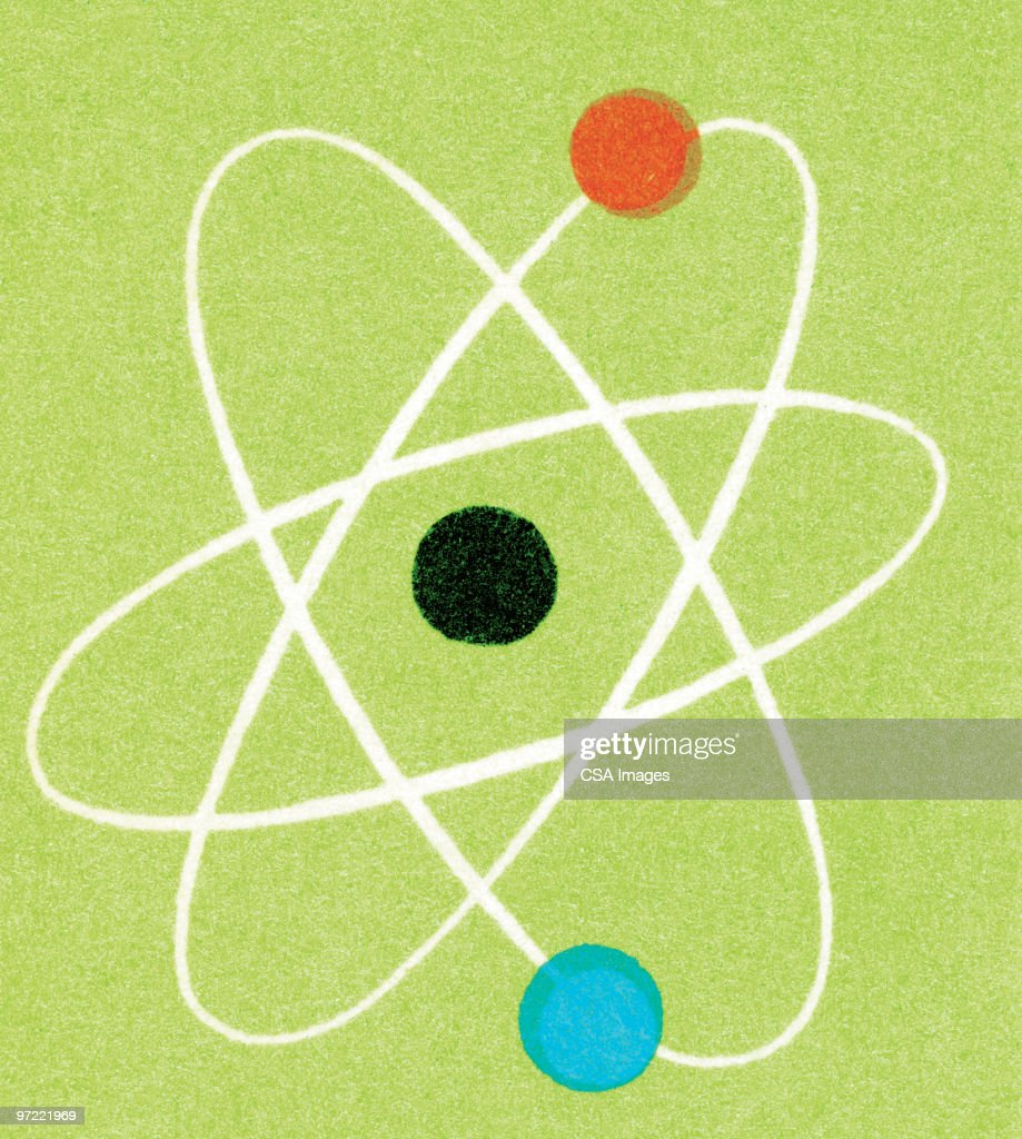 Atom : stock illustration