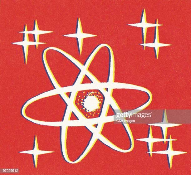 atom - atom stock illustrations