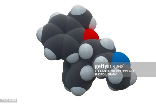 Atomoxetine ADHD drug molecule