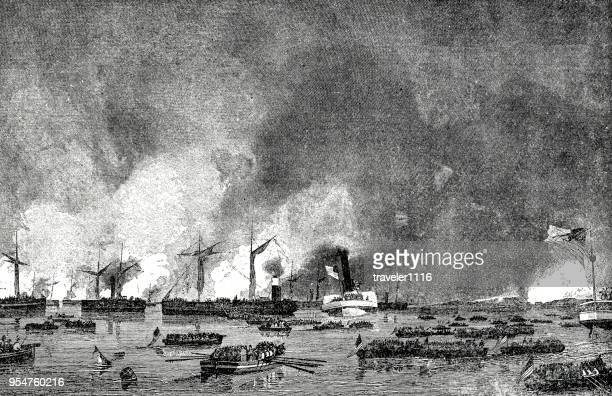 Attack On Roanoke Island During The American Civil War