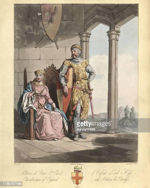 Aubrey de Vere, 2nd Earl of Oxford 13th Century knight