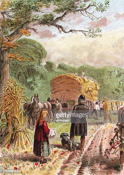 August - Bringing in the harvest