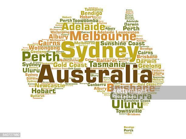 australia - sydney australia stock illustrations, clip art, cartoons, & icons