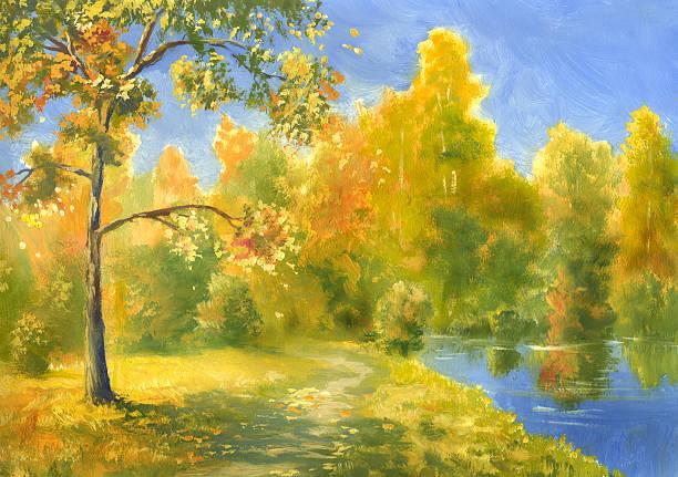 Autumn Impressionism Wall Art