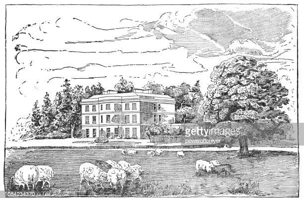 Avondale House in Avondale, Ireland the Birthplace of Charles Stewart Parnell
